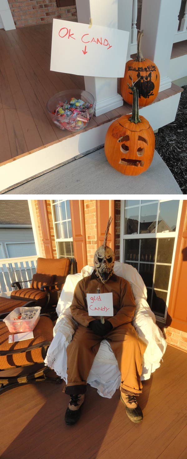 Trick-or-Treaters Got To Make A Choice At My House Last Year