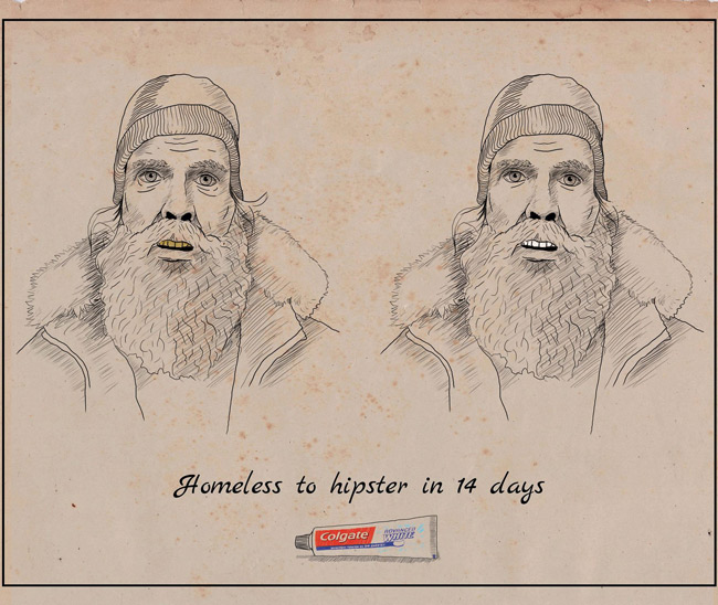 Homeless to hipster in 14 days