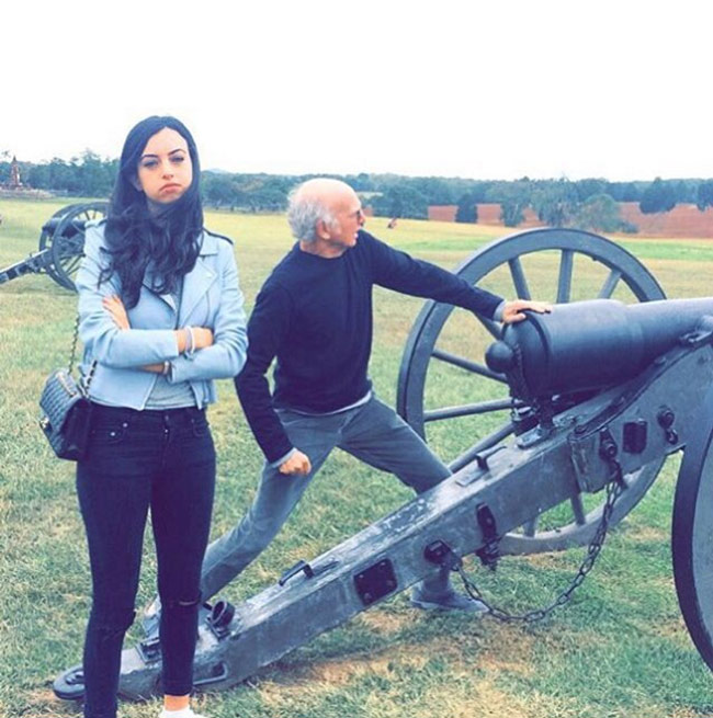 Larry David takes his daughter to tour every Civil War battlefield