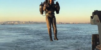 JetPack Test Flight Around The Statue of Liberty