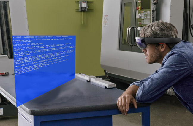 How I picture what it will be like using Microsoft HoloLens