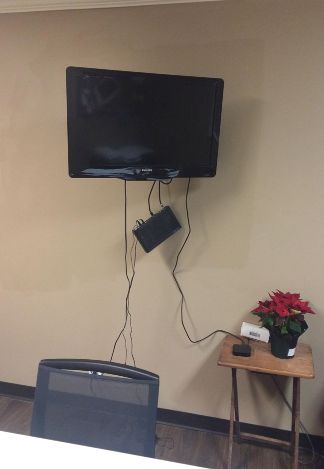America's favorite cable company installed a new box in our office. I have no idea why they have customer service issues