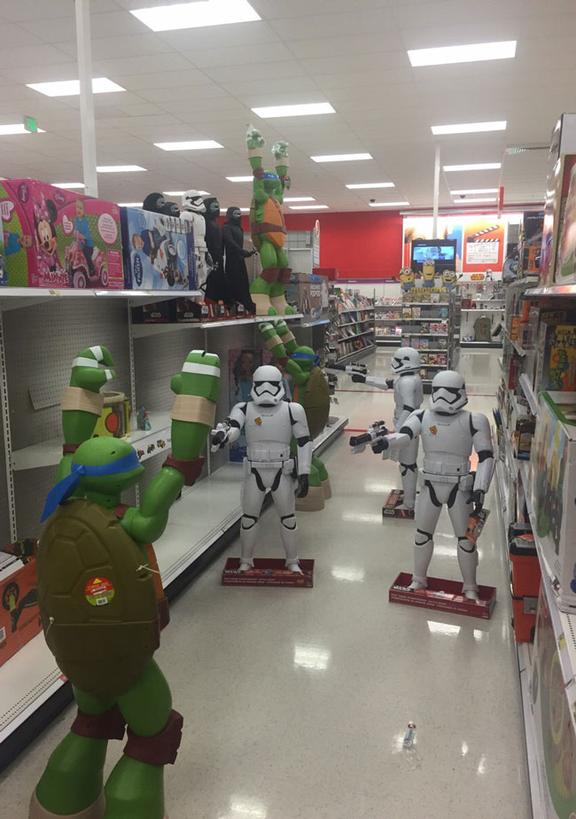 Turned down an aisle in target to find this...