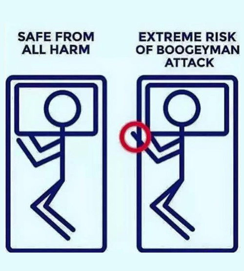 Remember to take precautions
