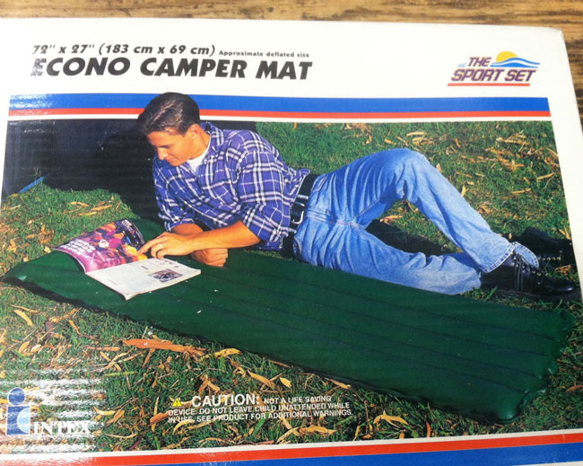 I bet it's a lot more comfortable if you are actually on the mat itself