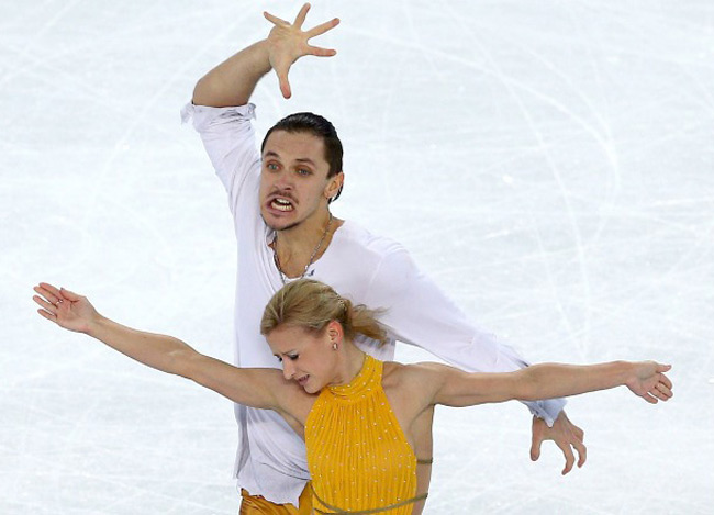 The faces of figure skating