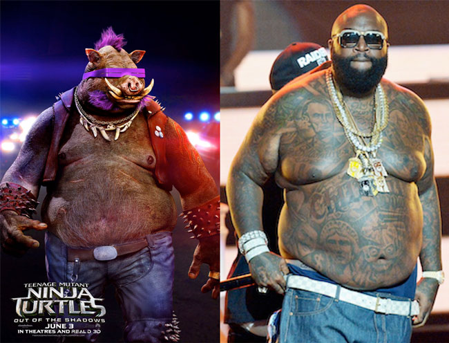 Would've saved a lot of money on cgi if they just cast Rick Ross