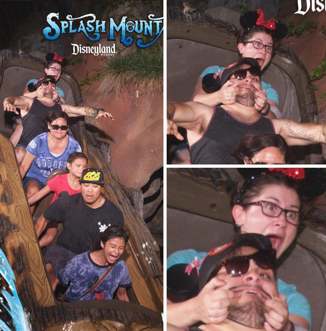 'Go to Disneyland' they said... 'It'll be fun' they said...