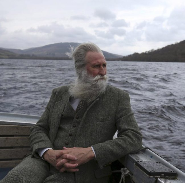 Adrian Shine, the leader of the Loch Ness Project, looks exactly like how I imagined the leader of the Loch Ness Project looks like