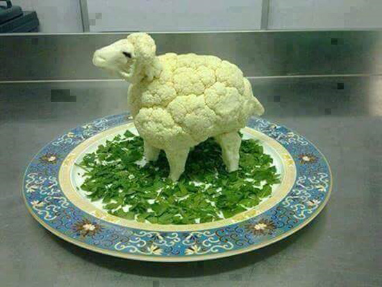 How to confuse a vegetarian
