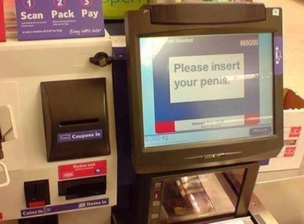 I think there'll be a job opening in Tesco IT soon