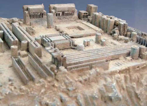 Old motherboard looks like Ancient Greece