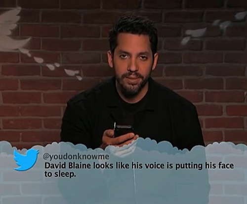 "The most accurate ""Mean Tweet"""