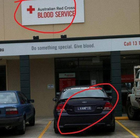 Give blood?