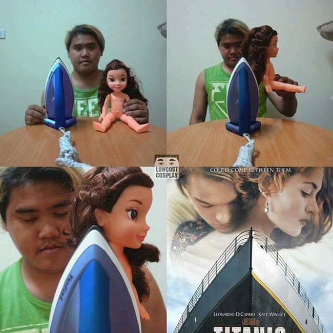 Low budget Titanic cosplay