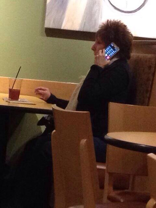 Old people and smartphones go together like toothpaste and orange juice