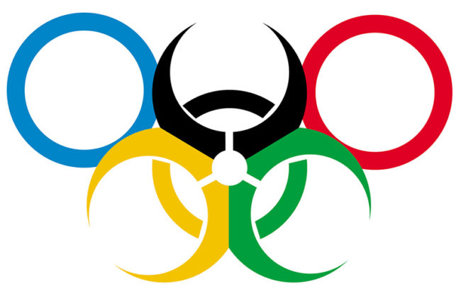 Due to all the health hazards surrounding the Rio Olympics, I figured they could use a new logo