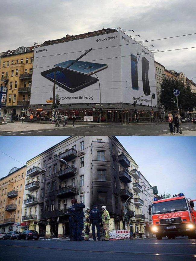 Samsung's creative marketing