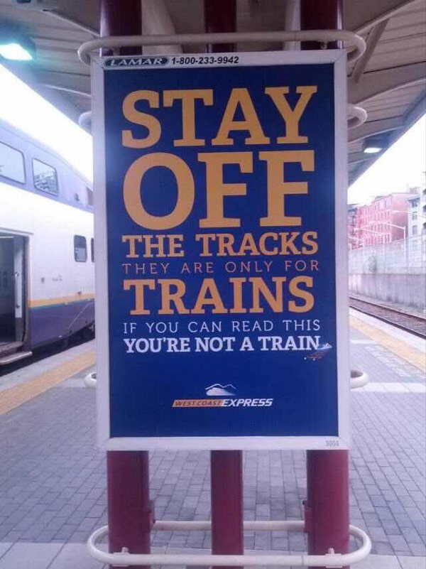 But I want to be a train!