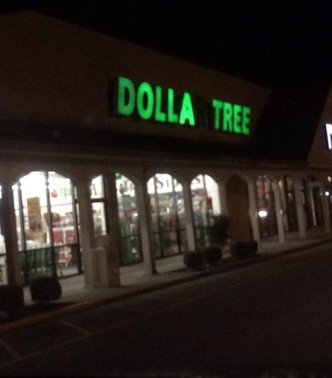 Our Dollar Tree Just got a little more ghetto...