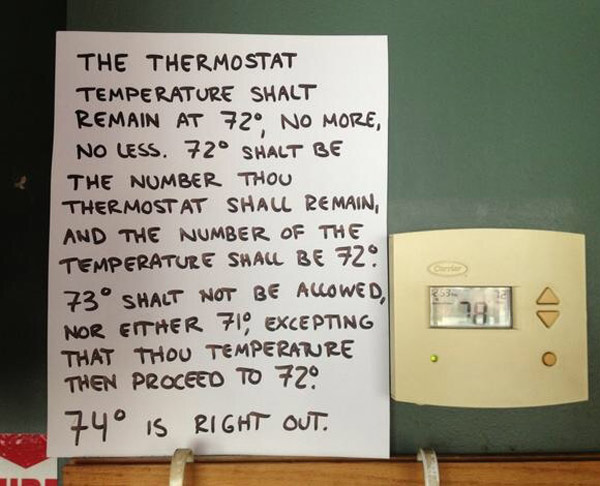 The holy thermostat of Antioch