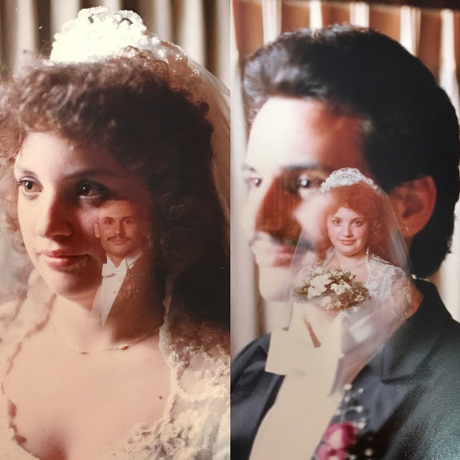 My parents' 1984 wedding photography in all its glory