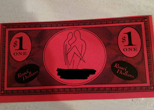 My girlfriend got this $1 off coupon at the hair salon and now I'm skeptical about what services she is receiving there