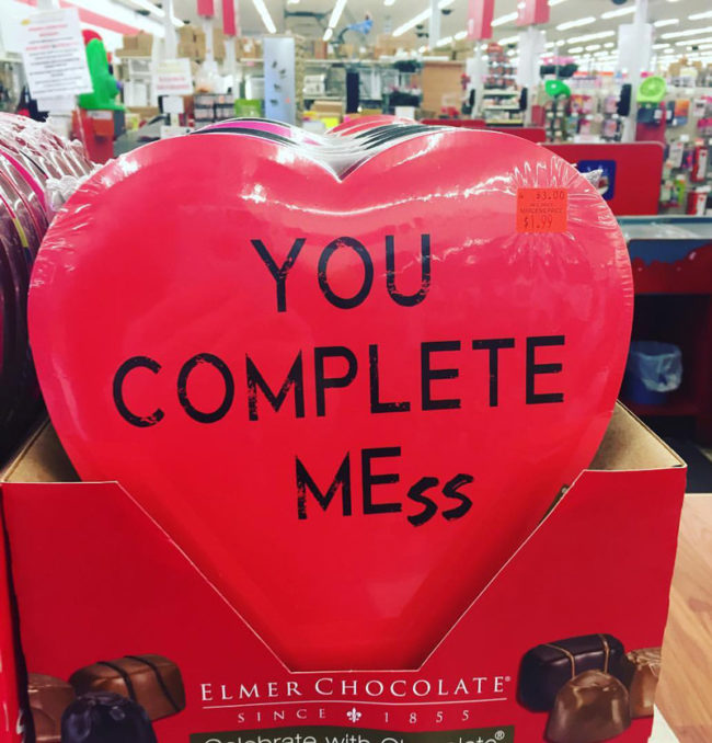 When the chocolates get too real