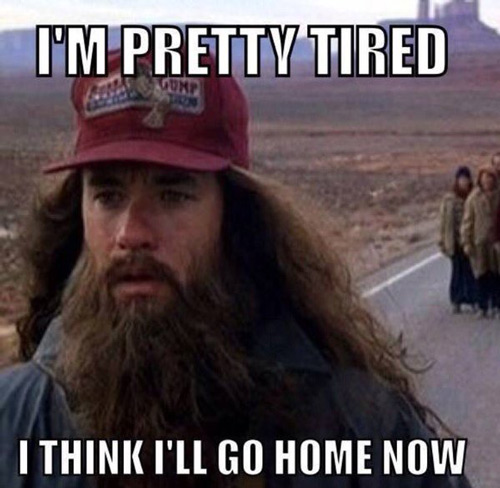 Anytime I leave the house