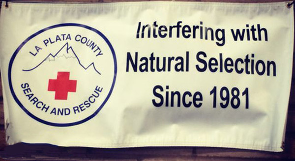 Search and Rescue's official motto