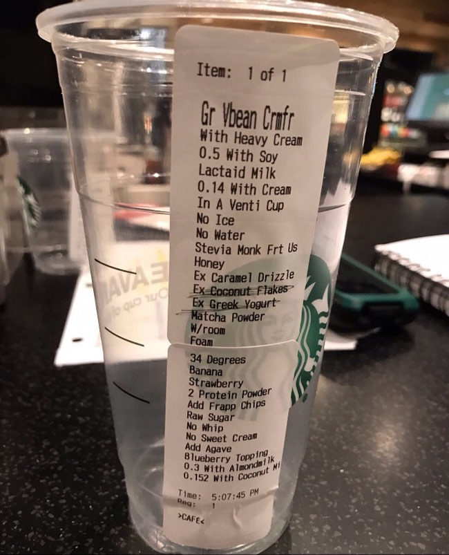 Friend that works at Starbucks just sent me this