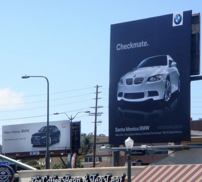 Billboard advertising at its best