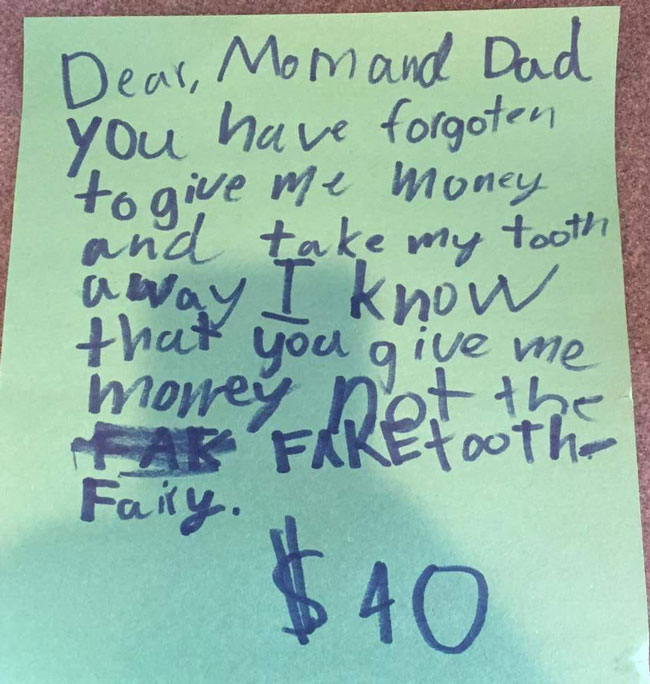 Fake Tooth Fairy