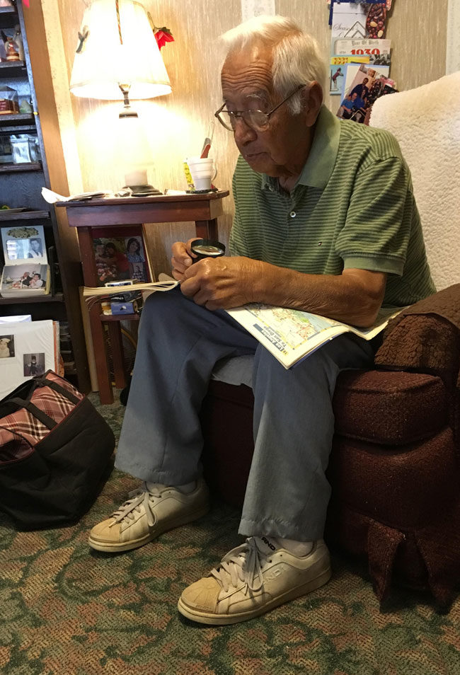 Married for 62 years, but my grandpa will still pull out his road atlas to prove my grandma wrong