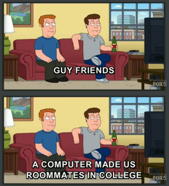 Family Guy knows what's up