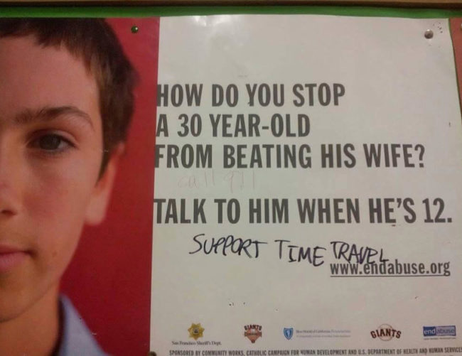 Solving domestic violence, for good