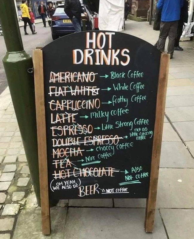 For those coffee amateurs...