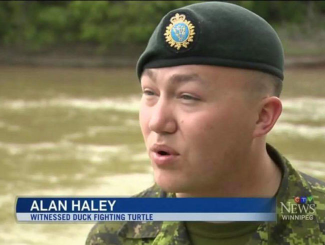 An old army friend of mine made the news...
