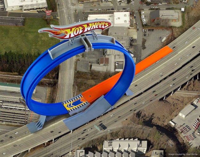 Atlanta already replaced the damage on I-85. It's a little aggressive