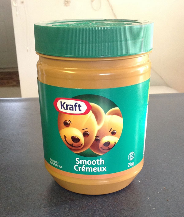 There's something unsettling about the peanut butter