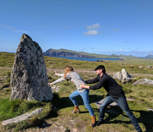 "...so my wife and I came across a ""Fertility Stone"" in Ireland"