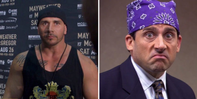 Hold on... is that Prison Mike?