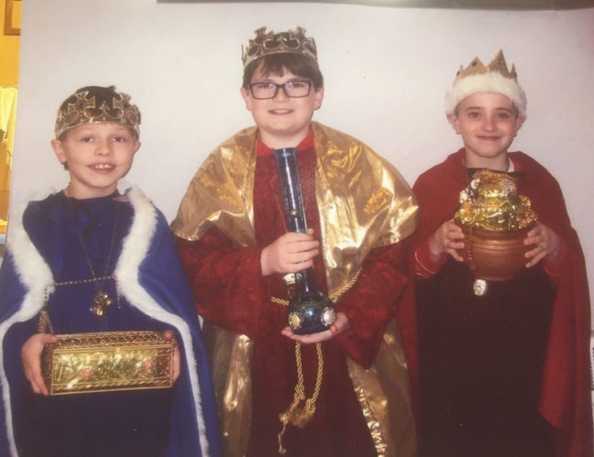 The Three Wise Men brought Gold, Frankincense, and Myrrhuana