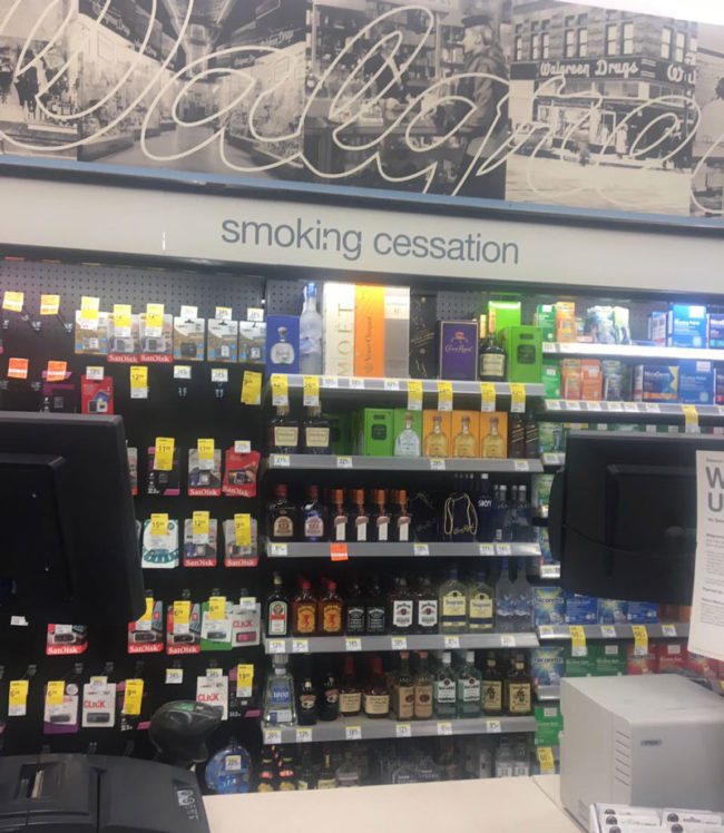 Walgreens has some interesting ideas to quit smoking
