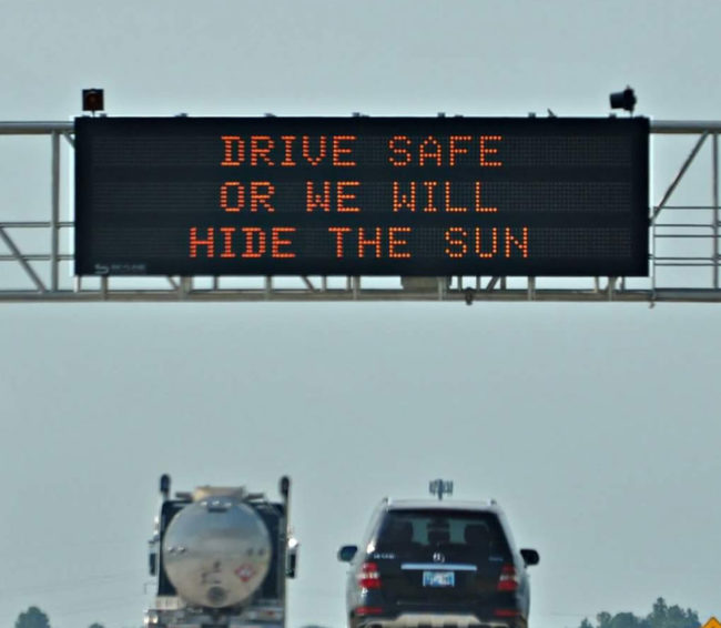Oklahoma DOT is making threats