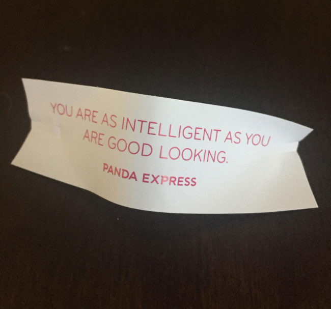 Well screw you too, Panda Express