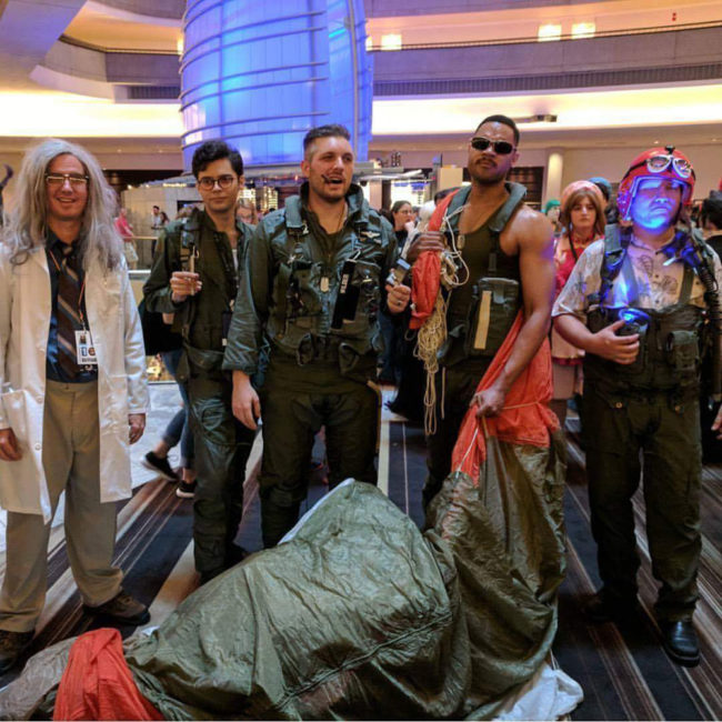 Independence Day Cosplay