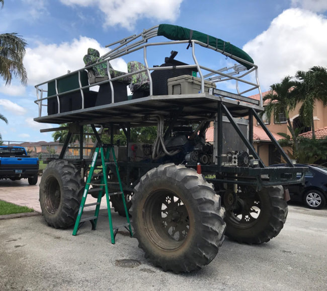 Ready to navigate with this bad boy when Irma arrives in Miami