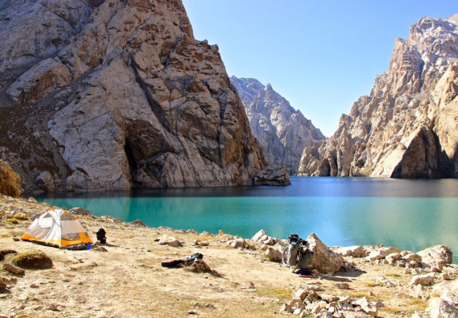 Kyrgyzstan - I had this magical place all to my self!