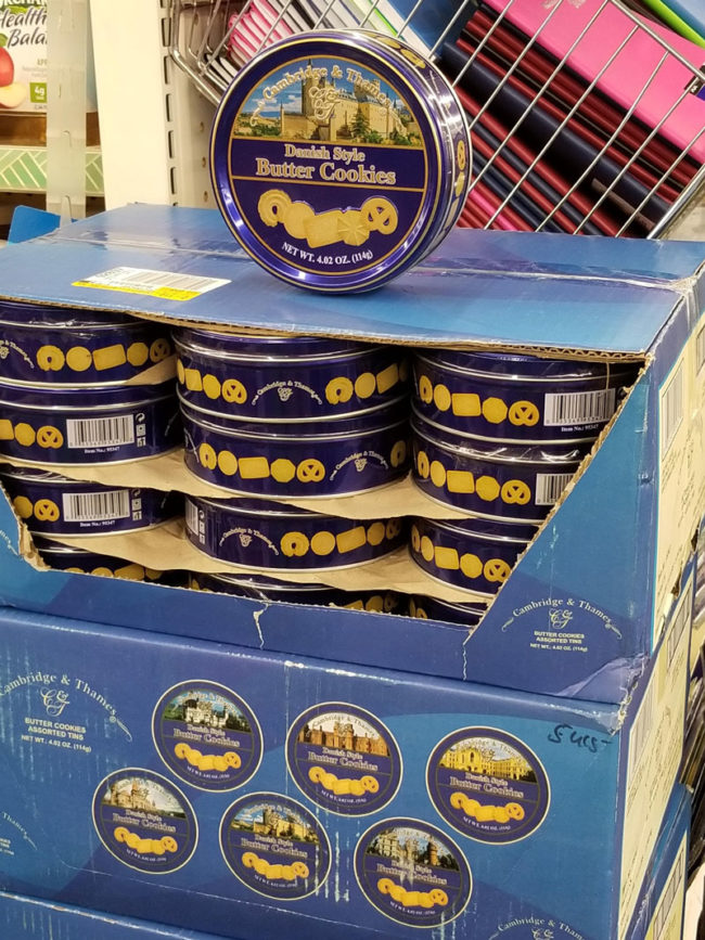 I found a whole case of sewing kits at the Dollar Tree!